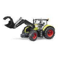Трактор Bruder Claas Axion 950 c погрузчиком