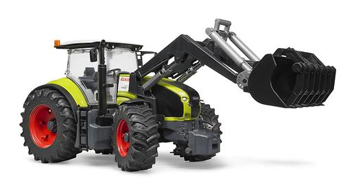 Трактор Bruder Claas Axion 950 c погрузчиком (7)