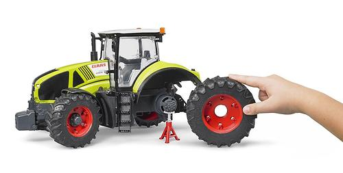 Трактор Bruder Claas Axion 950 c погрузчиком (10)