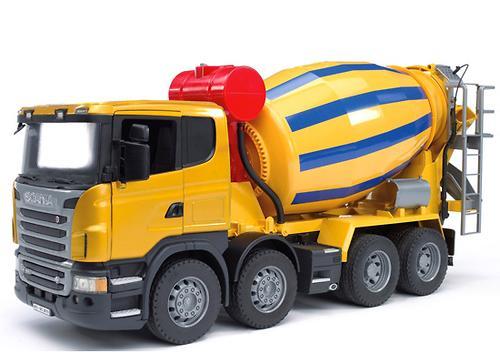 Bruder бетономешалка Scania (4)