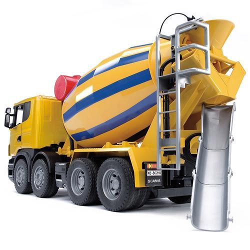 Bruder бетономешалка Scania (5)