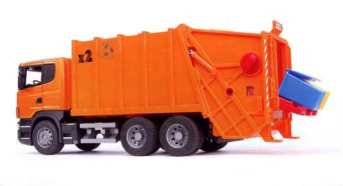 Bruder мусоровоз Scania (6)