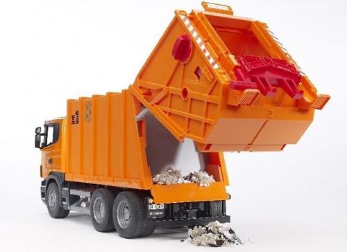 Bruder мусоровоз Scania (5)