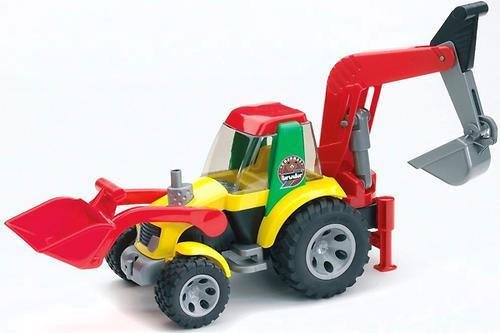 Bruder экскаватор-погрузчик Roadmax (1)
