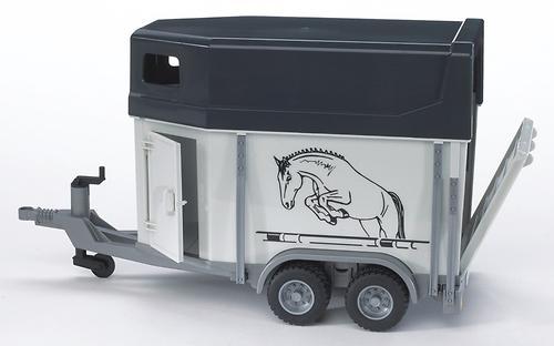 Прицеп-коневозка Bruder с лошадью (4)