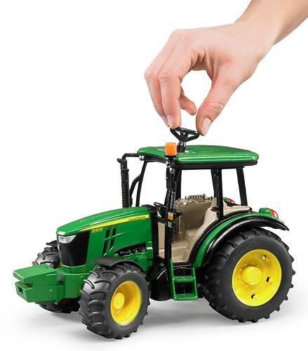 Трактор Bruder John Deere 5115M (4)