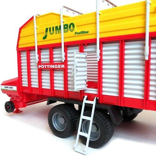 Автопогрузчик кормов Bruder Pöttinger Jumbo 6600 Profiline (7)
