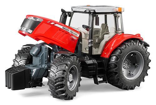 Трактор Bruder Massey Ferguson 7600 (6)