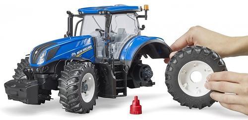 Трактор Bruder New Holland T7.315 (5)