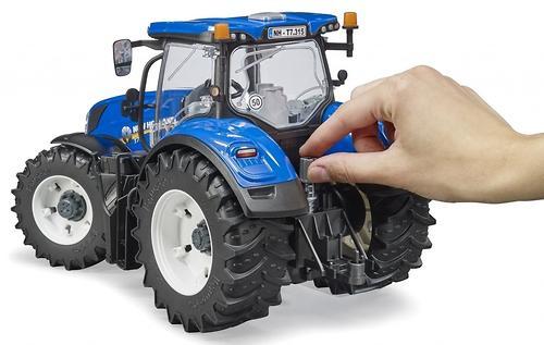 Трактор Bruder New Holland T7.315 (6)