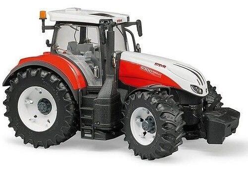 Трактор Bruder Steyr 6300 Terrus CVT c погрузчиком (16)