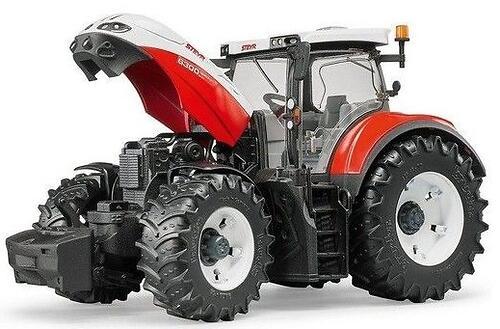 Трактор Bruder Steyr 6300 Terrus CVT c погрузчиком (15)