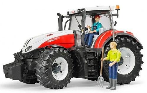 Трактор Bruder Steyr 6300 Terrus CVT (12)