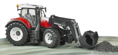 Трактор Bruder Steyr 6300 Terrus CVT c погрузчиком (12)