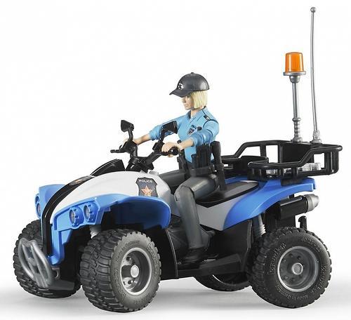 Полицейский квадроцикл Bruder с фигуркой (4)