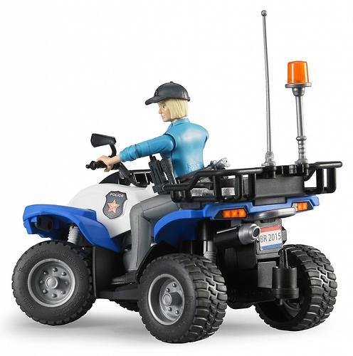 Полицейский квадроцикл Bruder с фигуркой (5)