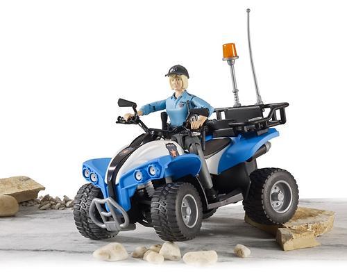 Полицейский квадроцикл Bruder с фигуркой (6)
