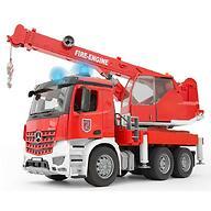 Пожарная машина автокран Bruder MB Arocs Bruder