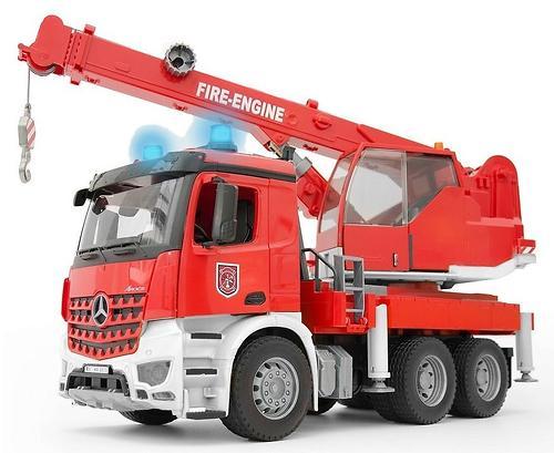 Пожарная машина автокран Bruder MB Arocs Bruder (3)