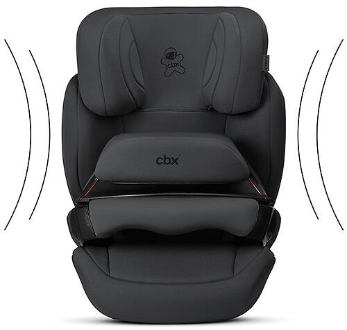 Автокресло CBX by Cybex Aura-Fix Cozy Black (7)