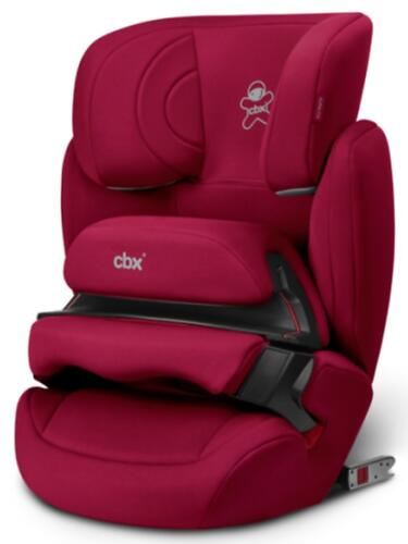 Автокресло CBX by Cybex Aura-Fix Crunchy Red (6)