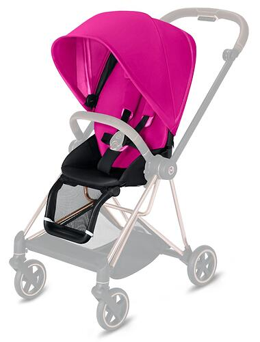 Набор Cybex Seat Pack Mios Fancy Pink (10)
