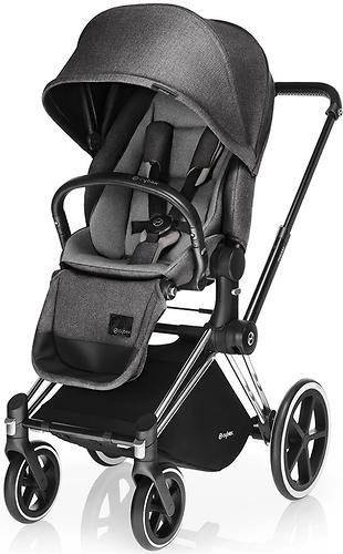 Сиденье Lux для коляски Cybex Priam Manhattan Grey (7)
