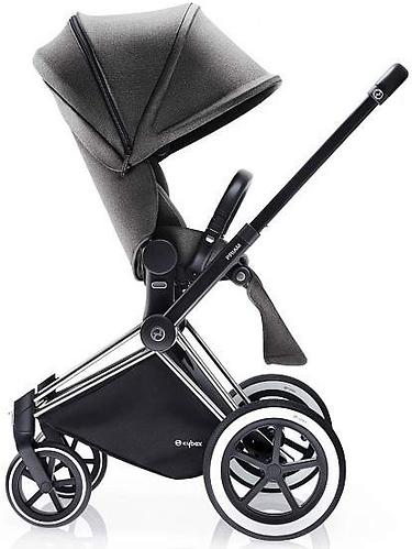 Сиденье Lux для коляски Cybex Priam Manhattan Grey (9)