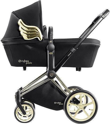 Люлька для коляски Cybex Priam by Jeremy Scott Wings black (5)