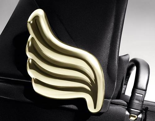 Люлька для коляски Cybex Priam by Jeremy Scott Wings black (6)