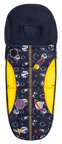 Накидка для ног для коляски Cybex Priam Space Rocket by Anna K (1)