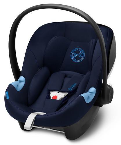 Автокресло Cybex Aton M i-Size Indigo Blue (8)