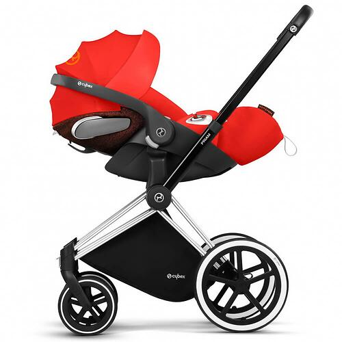 Автокресло Cybex Cloud Z I-size Plus Autumn Gold (15)