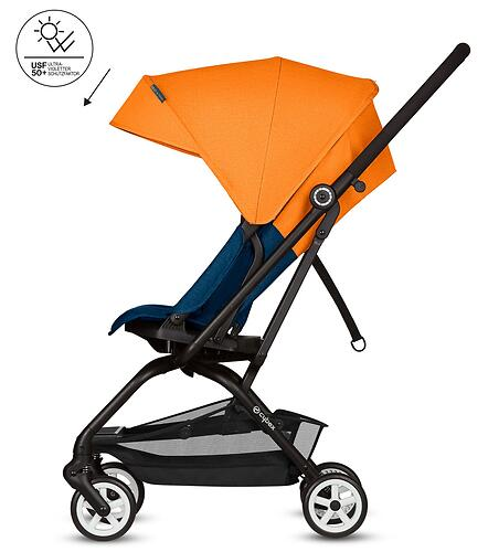 Коляска Cybex Eezy S Twist Tropical Blue (11)