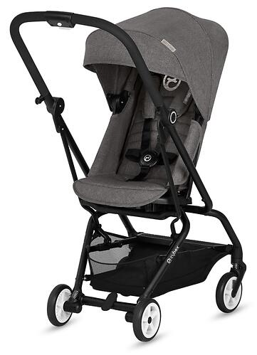 Коляска Cybex Eezy S Twist Manhattan Grey (8)