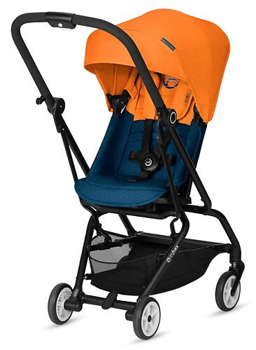 Коляска Cybex Eezy S Twist Tropical Blue (8)