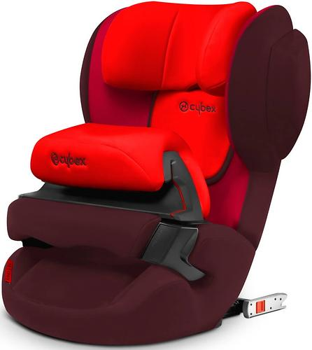 Автокресло Cybex Juno 2-Fix Rumba Red (10)