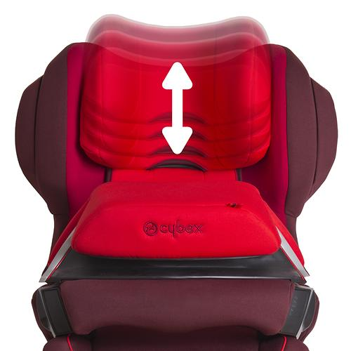 Автокресло Cybex Juno 2-Fix Rumba Red (12)