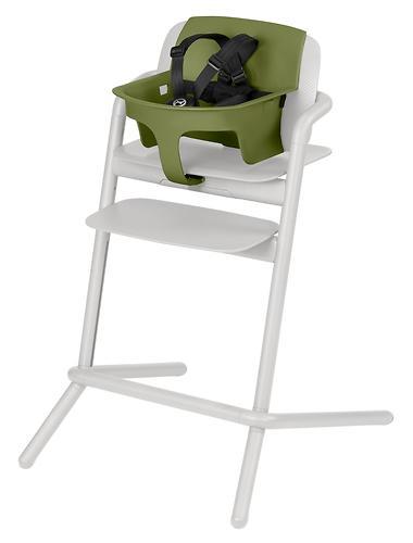 Стульчик Cybex Lemo Outback Green со столиком Lemo Tray и модулем Lemo Baby Set Outback (20)