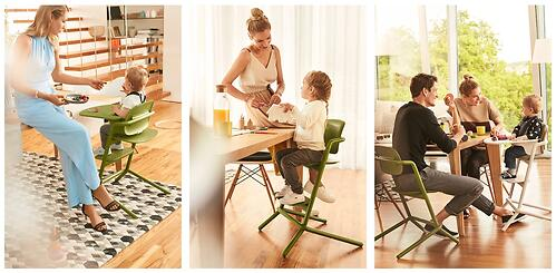 Стульчик Cybex Lemo Outback Green со столиком Lemo Tray и модулем Lemo Baby Set Outback (19)