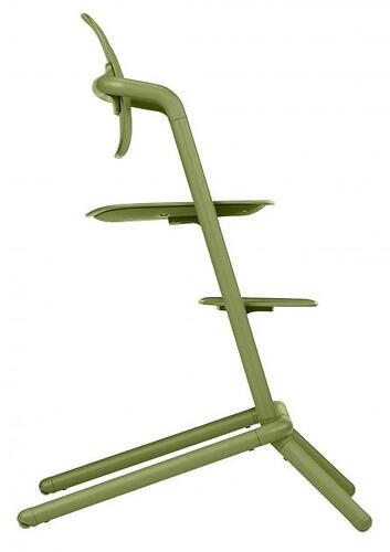 Стульчик Cybex Lemo Outback Green со столиком Lemo Tray и модулем Lemo Baby Set Outback (14)