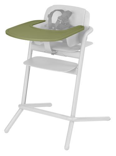 Стульчик Cybex Lemo Outback Green со столиком Lemo Tray и модулем Lemo Baby Set Outback (21)