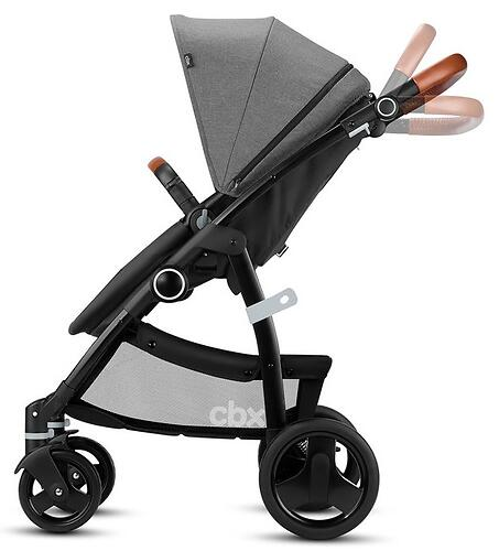 Коляска-трансформер CBX by Cybex Leotie Flex Lux Smokey Anthracite (14)