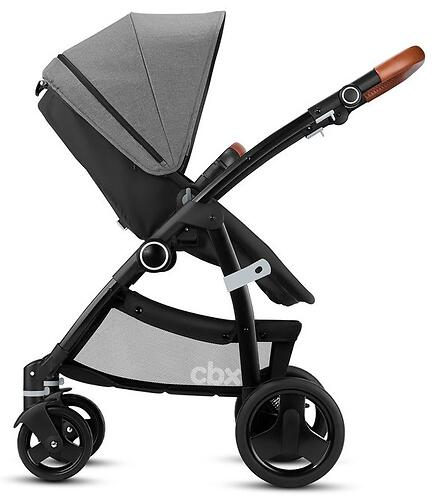 Коляска-трансформер CBX by Cybex Leotie Flex Lux Smokey Anthracite (15)