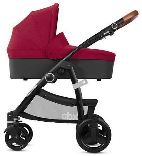 Коляска 2в1 CBX by Cybex Leotie Lux Crunchy Red (8)