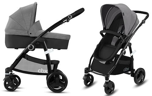 Коляска 2в1 CBX by Cybex Leotie Pure Comfy Grey (9)
