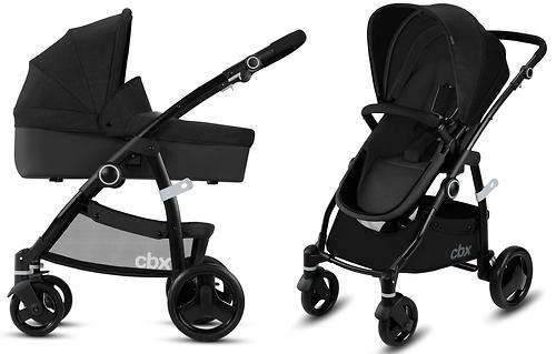 Коляска 2в1 CBX by Cybex Leotie Pure Smoky Anthracite (9)