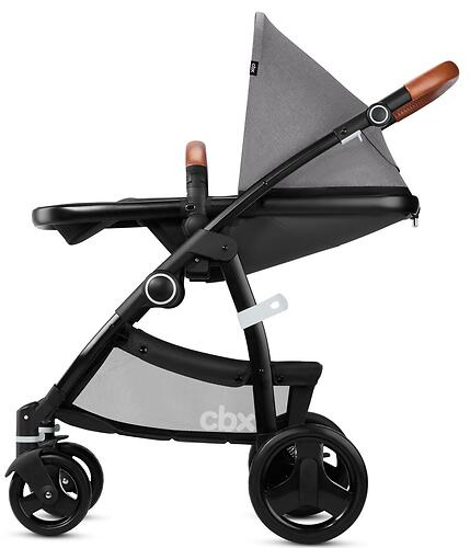 Коляска 2в1 CBX by Cybex Leotie Lux Comfy Grey (9)