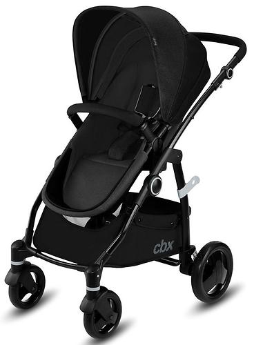 Коляска 2в1 CBX by Cybex Leotie Pure Smoky Anthracite (8)