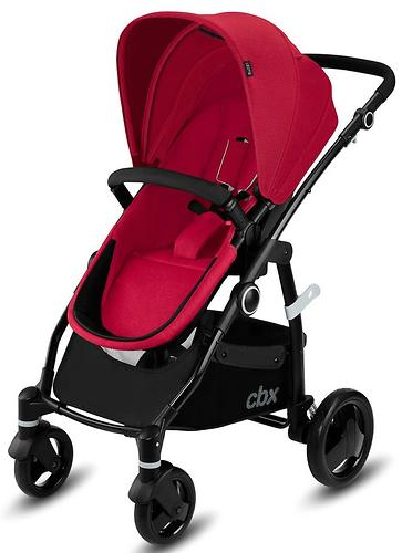 Коляска 2в1 CBX by Cybex Leotie Pure Crunchy Red (8)